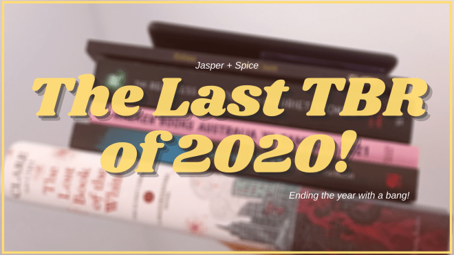 The Last TBR of 2020 2020 Blog Header - The LAST TBR Of The Chaos That Was 2020!!