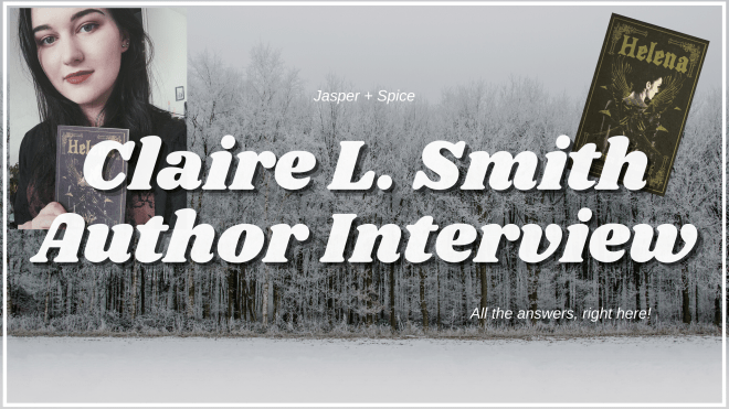Author Intweview with Claire L Smith 2021 Blog Header - Interview with Claire L. Smith, author of HELENA!