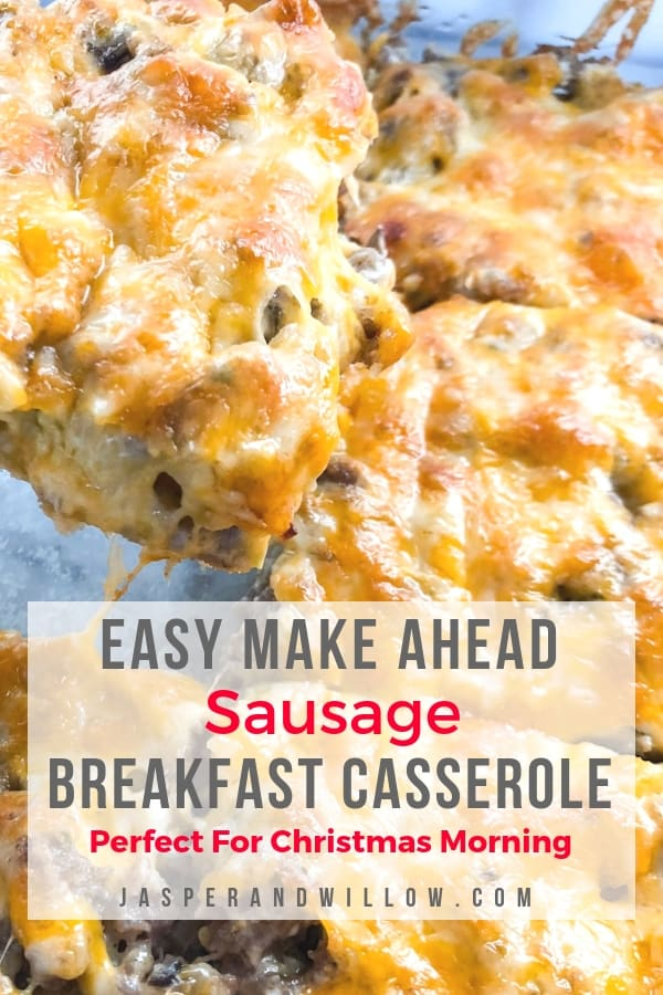 easy sausage breakfast casserole recipe
