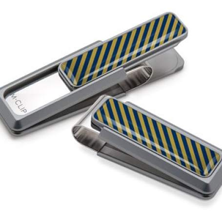 Top 5 Father's Day Gift Ideas - Team Stripes money clip from M-Clip