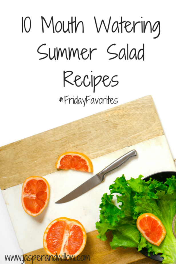 10 Mouth Watering Summer Salad Recipes