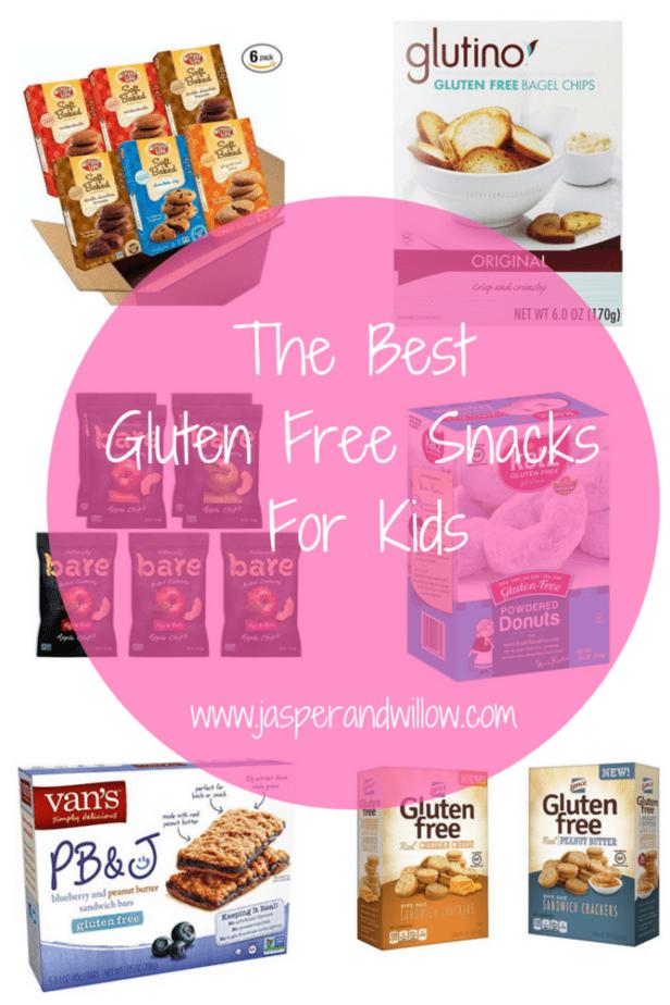 The Best Gluten Free Snacks For Kids