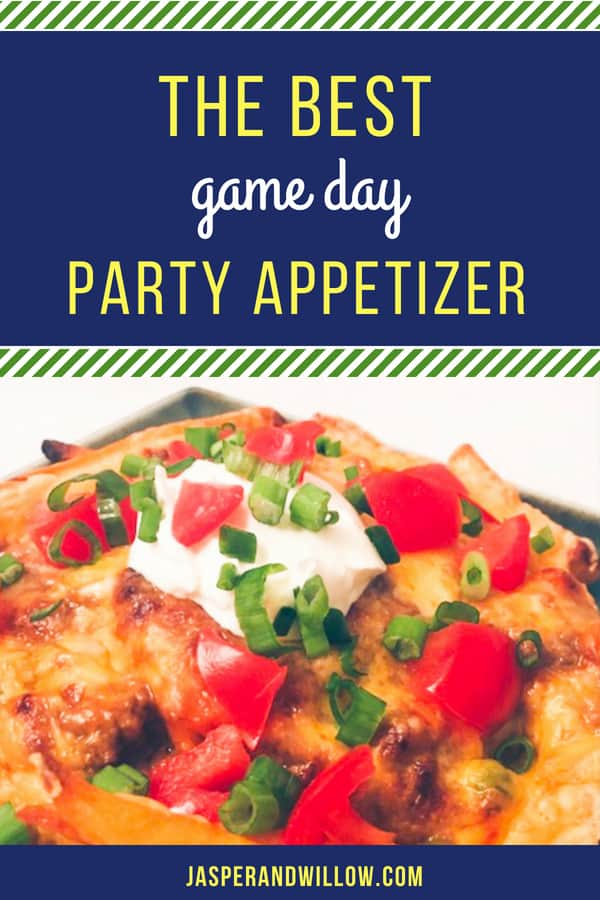 Irish nachos make for a perfect football party food. An easy snack or football appetizer ideas that is perfect for watching the game at home, or for tailgating. Be sure to keep reading to see what makes this appetizer so delicious! #footballfood #footballparty #appetizers