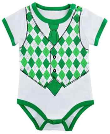 St Patrick's Day Fashion For The Whole Family Onesie