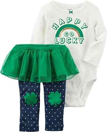 St Patrick's Day Happy Go Lucky Outfit