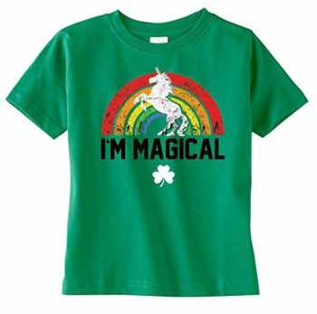 St Patrick's Day Fashion For The Whole Family I'm Magical Tee