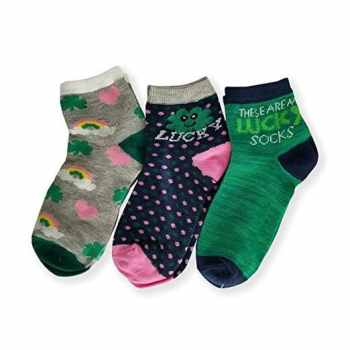 St Patrick's Day Kids Socks