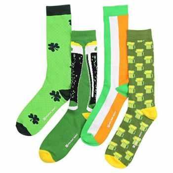 St Patrick's Day Men's Socks