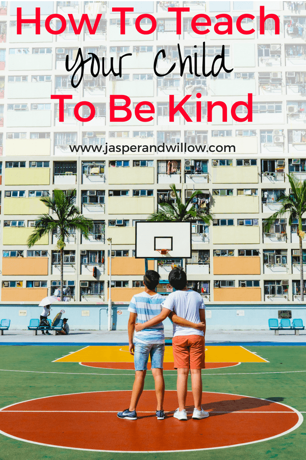 Teaching your child to be kind is and important social skill for emotional wellness in children. 5 Ways to teach your child to be kind. #kindness #teachingkids #socialskills #nightinboxes #kidsnightin #activitesforkids #kidactivites #kidcrafts #craftsforkids #kindnessinkids #bullying #empathy #compassion