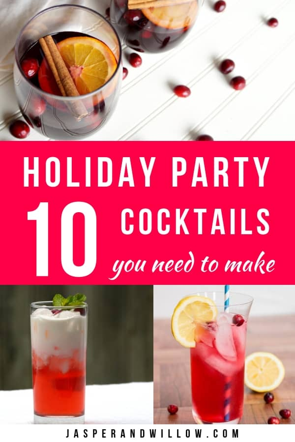 best cranberry cocktails for your holiday party