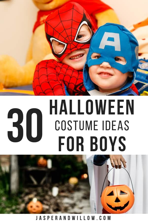 boys halloween costume ideas