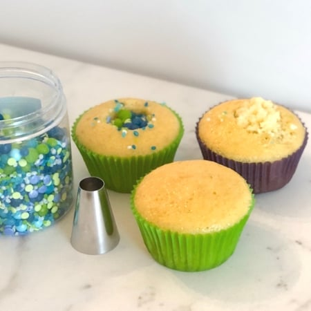 mermaid cupcakes ingredients