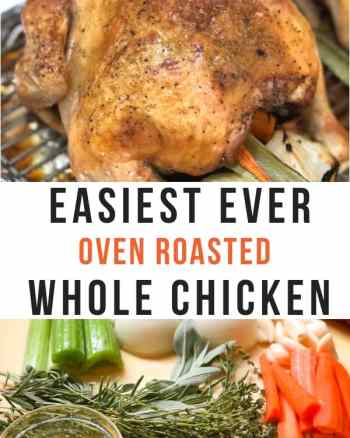 oven roasted whole chicken