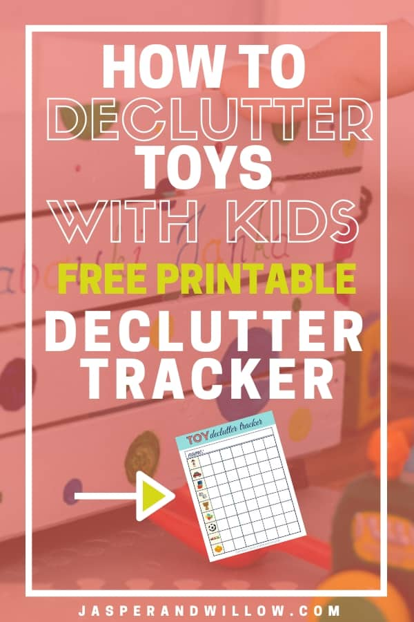 graphic relating to Printable Toys identify How In the direction of Declutter Toys - With Free of charge Toy Declutter Tracker