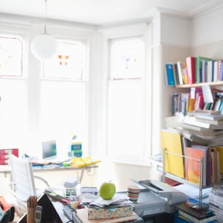 How to declutter your life and home with messy room and desk