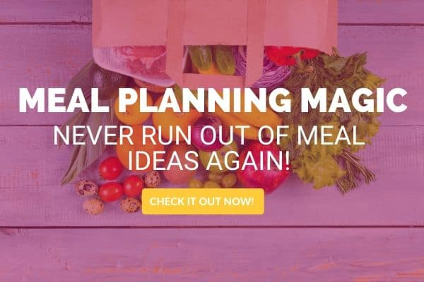how to meal plan with meal planning magic ebook