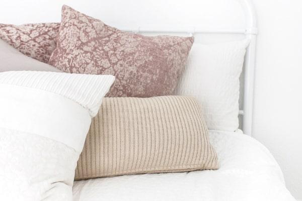 secrets to a clean house with neat and tidy bed