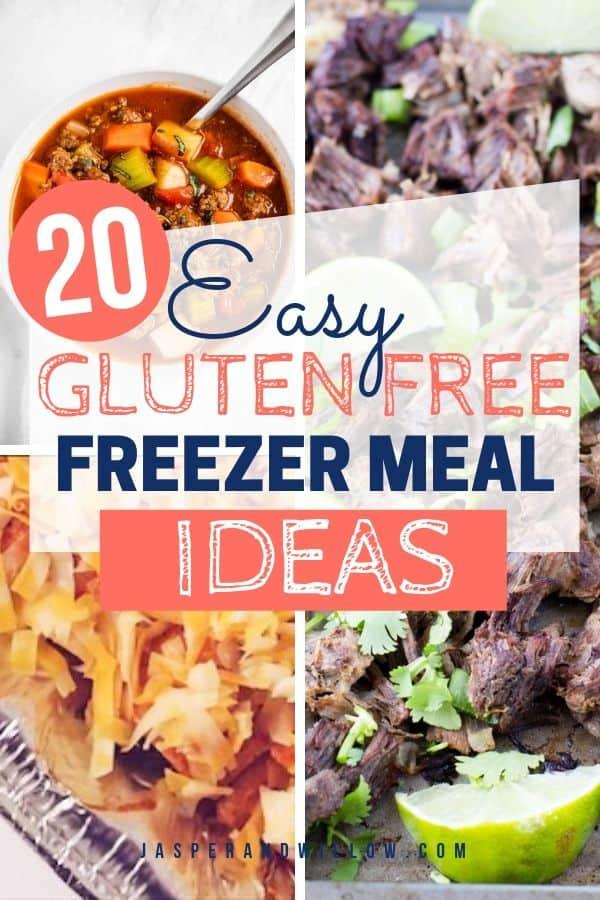 20 gluten free freezer meal ideas