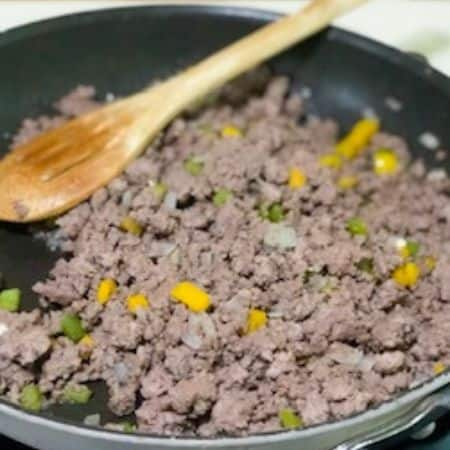 ground beef for tater tot casserole