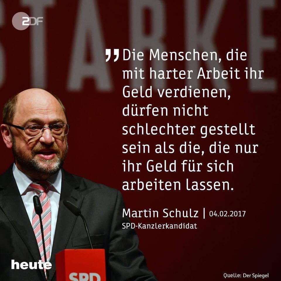 Martin Schulz Populist