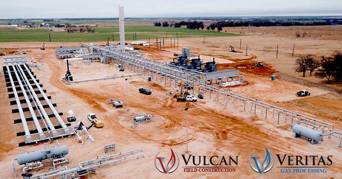Jasper Ventures completes a second 200 MMSCFD gas plant in April 2018