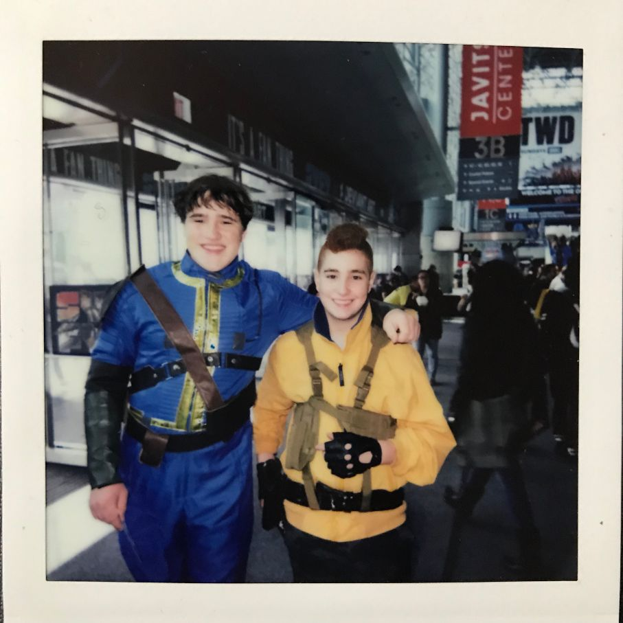 fallout friends cosplay