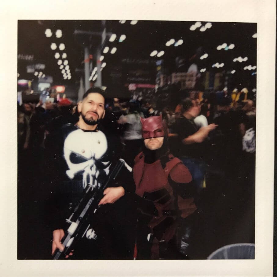 punisher and daredevil cosplay together
