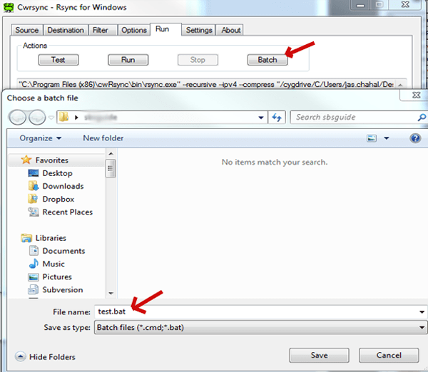 How to: cwRsync 5 0+ GUI, rsync on windows | Jaspreet Chahal