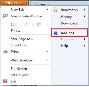 Firefox addons