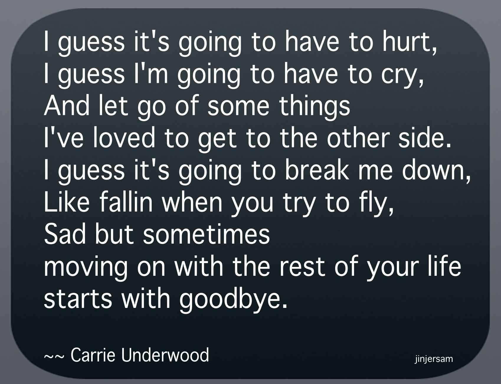 Starts With Goodbye