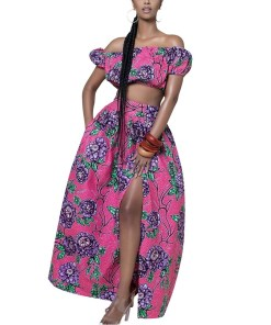 Jassjazz African Dress set