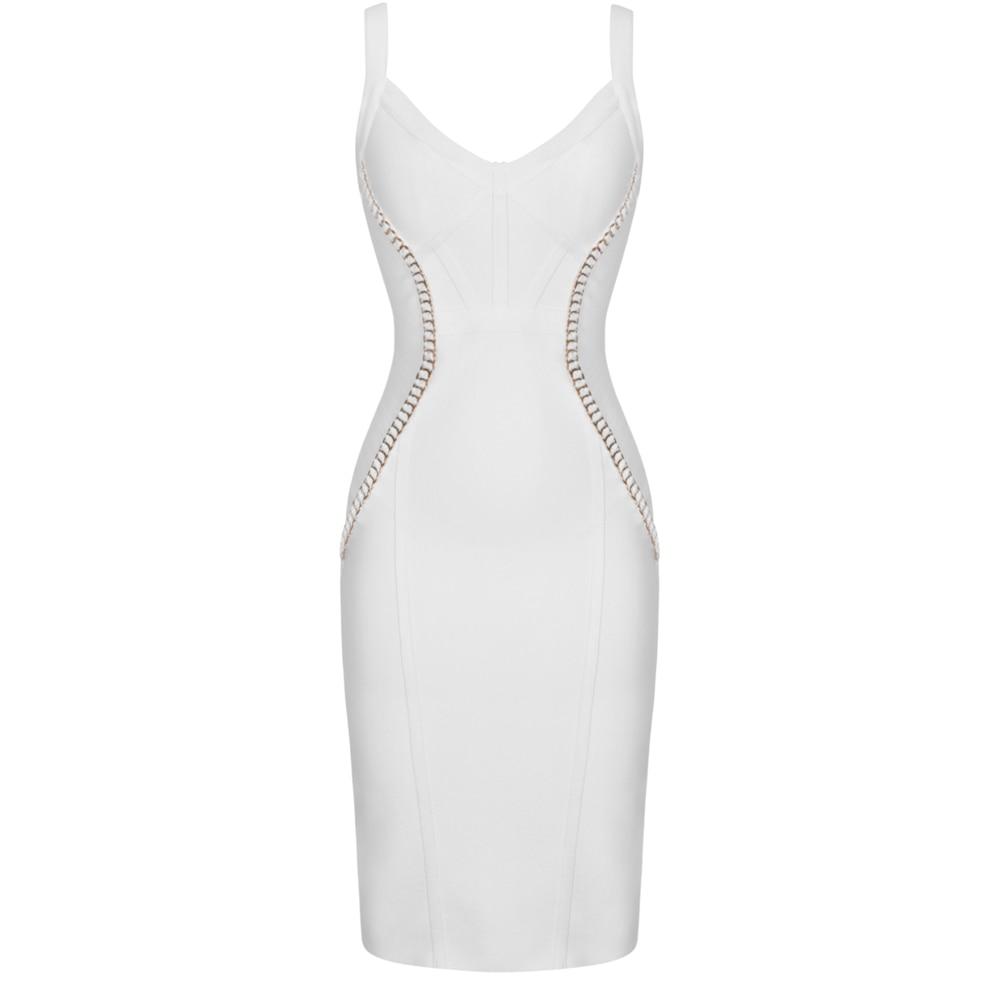 JASSJAZZ WHITE SLEEVELESS DRESS