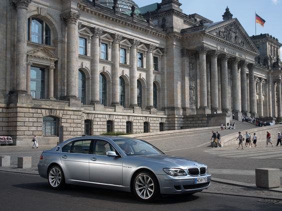 Agnelina Jolie's cars - BMW Hydrogen 7