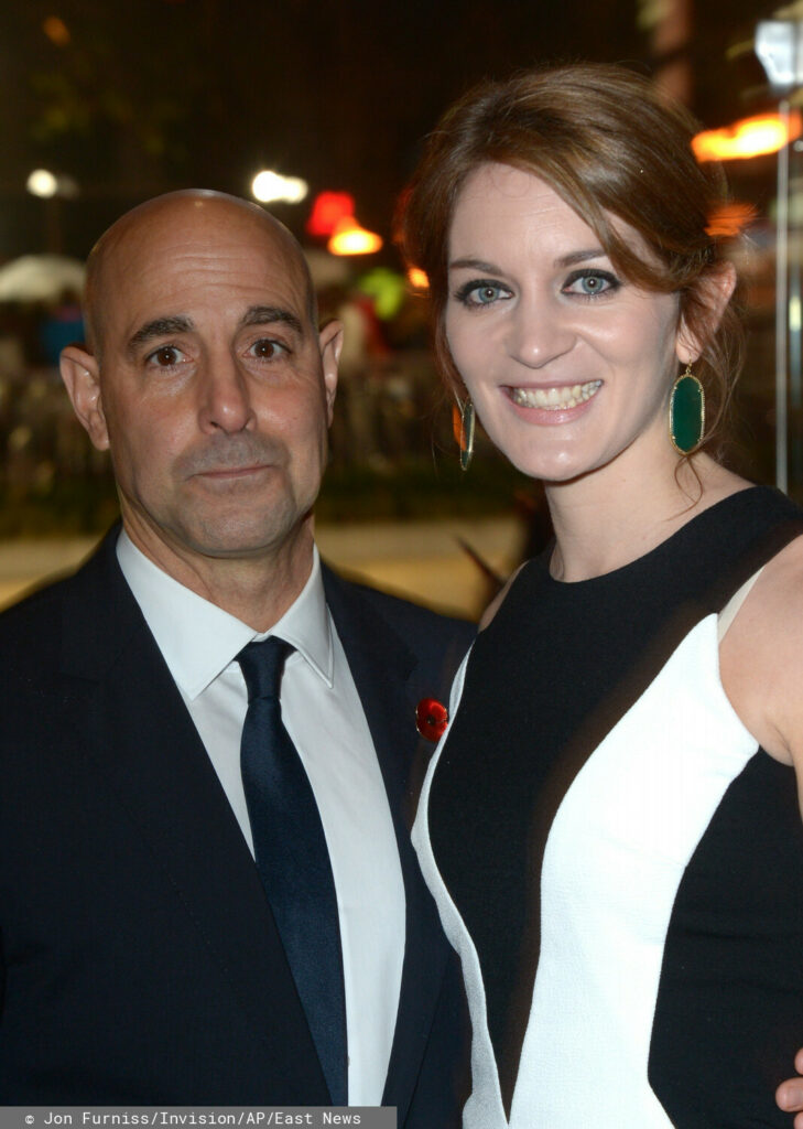Stanley Tucci with his wife - Felicity Blunt