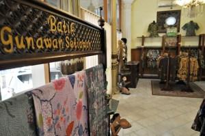 Koleksi batik andalan Rumah Batik Gunawan Setiawan