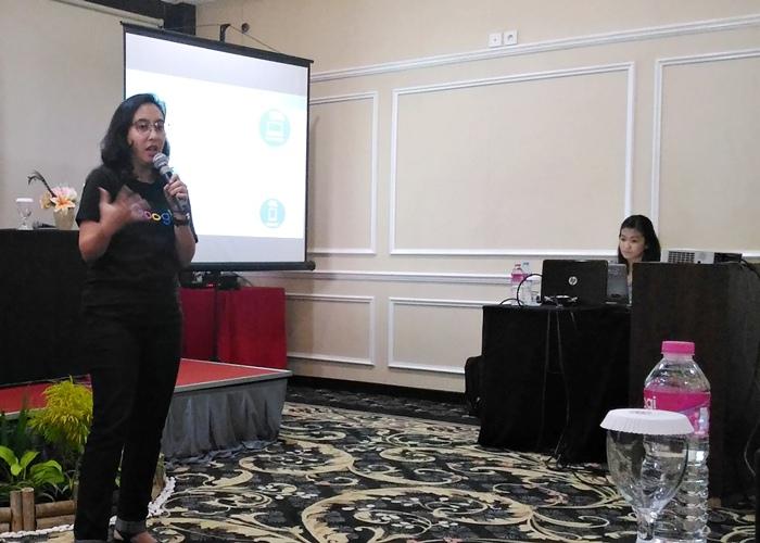 Fida Heyder, Head of SMB Marketing Google Indonesia menjelaskan bahwa tim Google Bisnisku telah membantu lebih dari 500.000 UKM Online secara langsung