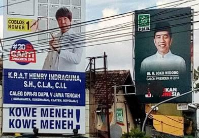 Slogan Unik 'Kowe Meneh, …' Digandrungi Pemilih Milenial