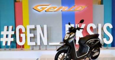 Mesin Honda Genio Generasi Terbaru Ramah Lingkungan Standar Emisi Euro 3