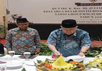 Potong Tumpeng ke-54, Hotel Sahid Jaya Rilis Promo