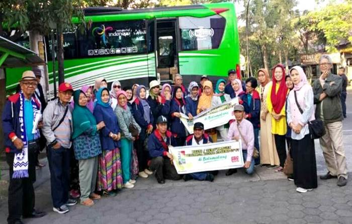 'Kekancan Salawase' PASEMP4T'67 Reuni ke Batu Malang
