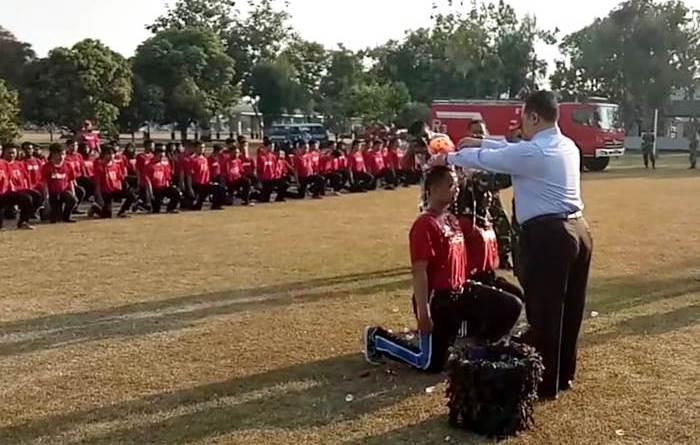 UNSA 'Gembleng' Mahasiswa Barunya Bela Negara di Lanud Adi Soemarmo