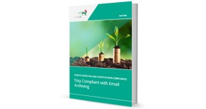 Stay Compliant with Email Archiving cover
