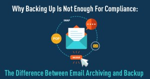 Why Backing Up Is Not Enough For Compliance Infographic