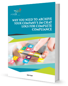 Why You Need to Archive Your Companys IM Chat Logs for Complete Compliance Whitepaper cover May 2017
