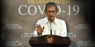 Juru bicara pemerintah untuk penanganan Covid-19, Achmad Yurianto