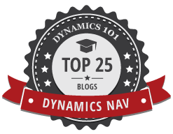 Top 25 Dynamics NAV Blog