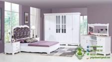set kamar minimalis warna putih model terbaru