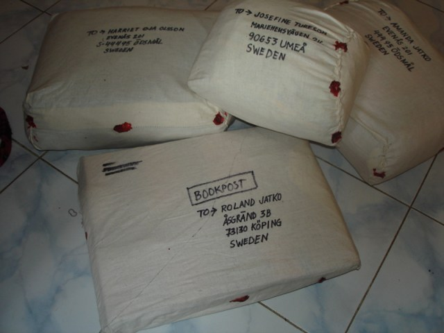 Tailored parcels to Sweden