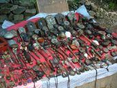 Old Tibetan flea market