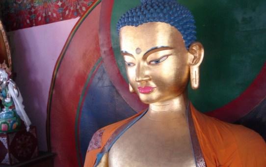 Buddha svarade